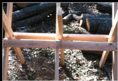 how to build a sawbuck for cutting firewood