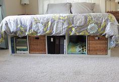 IKEA hack - DIY bed frame