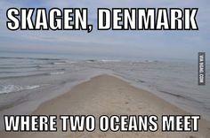 Skagen, Denmark. Bucket List