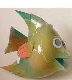 Plastic bottle crafts on pinterest plastic bottles for Fish string lights