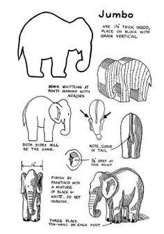 Jumbo Elephant pattern