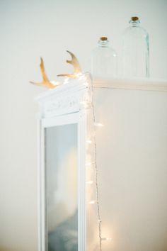 Twinkly lights | Photography: Yazy Jo - yazyjo.com  Read More: http://www.stylemepretty.com/living/2014/09/22/la-la-lovely-home-tour/