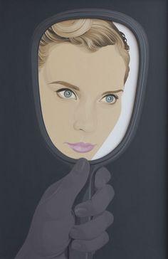 "Saatchi Art Artist: Colin McMaster; Acrylic 2013 Painting ""Hand Mirror 2"""