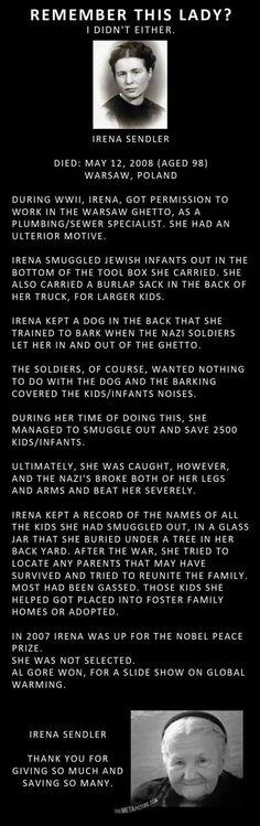 True heroism.