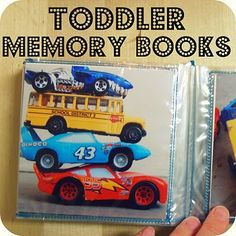 Toddler Memory Books Tutorial    www.the-red-kitchen.com