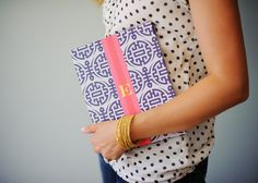 Monogrammed iPad Case - Personalized iPad - ORIENTAL Collection, choice of color. $70.00, via Etsy.