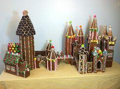Gingerbread Hogwarts created by author Liesl Shurtliff :)