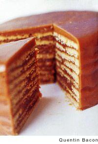 Butterscotch cake. Butterscotch.