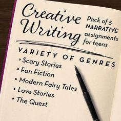 story starters creative writing high school