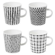 Design House Stockholm 4 Piece Bono Mug Set
