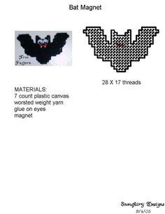Vanessa's Site  Bat magnet