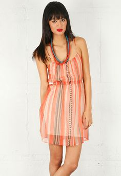 Twelfth St. by Cynthia Vincent Cami Mini Dress in Bow and Arrow