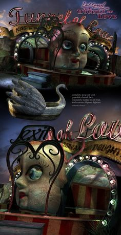 dark carnival | Dark Carnival 1: The Tunnel of Love Props/Scenes/Architecture ...