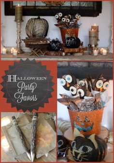 Halloween Party Favors!