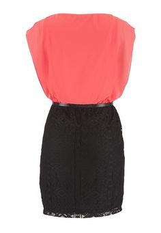 belted chiffon top l