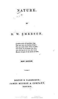 ralph waldo emerson essays full text
