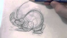 Animating in class, (demo by Scott T. Petersen, of a character jumping)