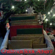 DIY and Frugal: Savvy Spending  Make a Christmas Advent Calendar using Christmas/winter books