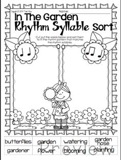 Spring Music Print  Go for your elementary music classroom.