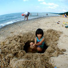 Tips for a Green and Healthy Day at the Beach | Healthy Child Healthy World