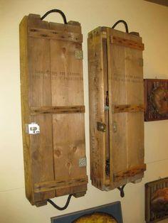 Ammo box cabinets