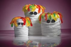 Ghastly Recycled Can Mummy - Halloween #DIY How-To!