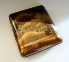 Japanese lacquer suzuribako writing box at www.Jcollector.com