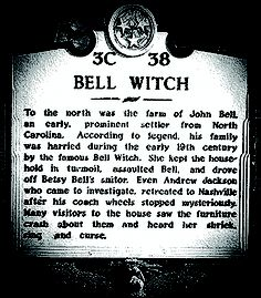 The Bell Witch - a piece of Nashville history
