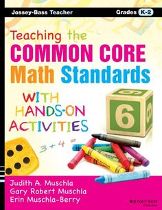Teaching the #CommonCore #Math #Standards with Hands-On Activities, Grades K-2