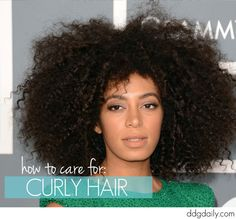 Wild & free: How to take care of curly hair