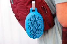 Best tech gear for camping and hiking: BOOM Urchin Bluetooth speaker