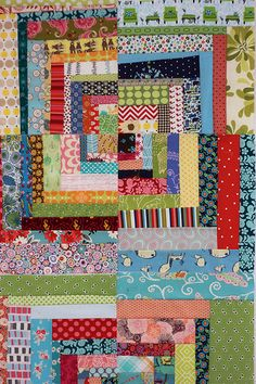 """Scrapper's Delight from the book """"Sunday Morning Quilts"""""""