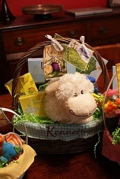 Resurrection Baskets... and other fun ways to make Easter all about Jesus!  This is a great thing - not too keen on the Easter Bunny or Santa myself.