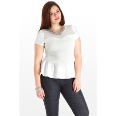 Lasting Impression Peplum Top