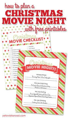 How to Plan a Christ