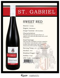 St. Gabriel Sweet Red - Really enjoyed