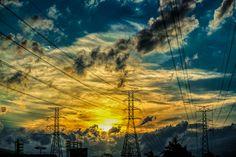 """""""Power lines"""" by Dereje Belachew derej belachew"""