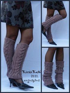 Knitted leg warmer :)