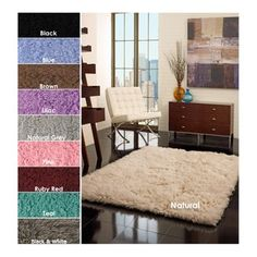 @Overstock - The standard Flokati rug is made in Greece using 100-percent New Zealand wool. This lovely rug features your color of choice in a thick shag design.http://www.overstock.com/Home-Garden/Hand-woven-Alexa-Flokati-Wool-Shag-Rug-3-x-5/4365602/product.html?CID=214117 $58.64