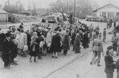 Deportation of Jews. Koszeg, Hungary, July 1944.