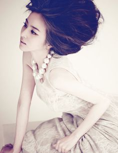Korean actress Han Hye-jin