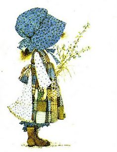Holly Hobbie...had the doll...had the hat my cousin sewed for me.