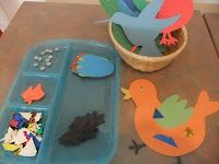idea, montessori preschool, felt crafts, pet, art