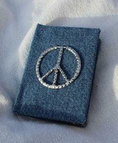Peace Mini Journal by LoveandLight for $5.00 #zibbet