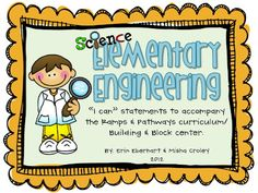"""Eberhart's Explorers: """"I Can"""" statements for Elementary Engineering"""