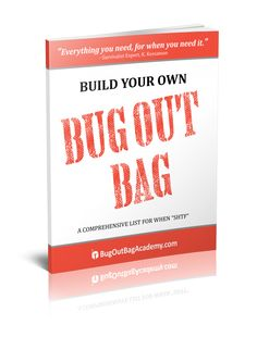 great bug out bag list