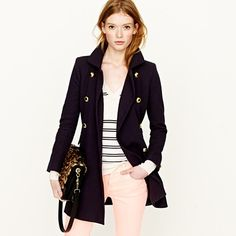 i die for this coat in navy.