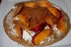 Oatmeal Egg White Protein Pancakes - 1 tbsp oats to 1 egg white