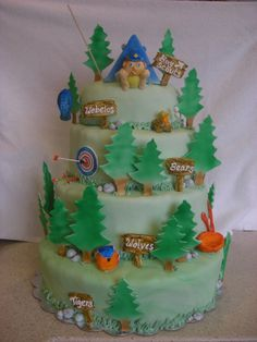 Scout cake