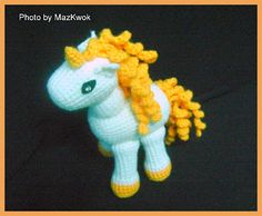 Be A Crafter xD: Free Amigurumi pattern: The Unicorn